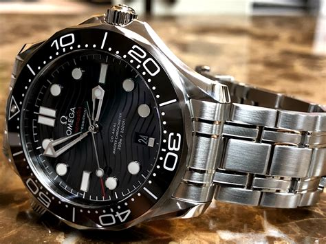Omega Seamaster Diver 300M Co‑Axial Master 42mm Black Dial