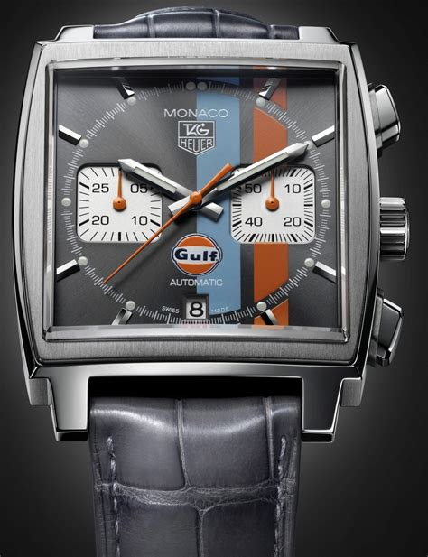 TAG Heuer Monaco Gulf Series- The Ultimate Collector's
