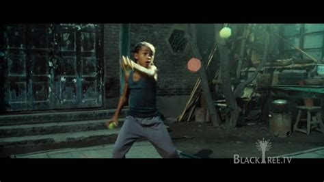 Jaden Smith gets his workout on in THE KARATE KID - YouTube