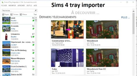 Sims 4 Tray Importer | ts4 - Download(2020)