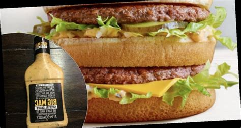 McDonald's to sell Big Mac sauce as a separate dip for