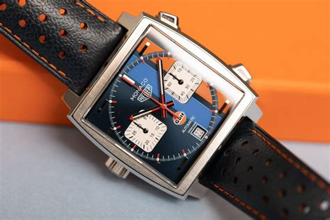 TAG Heuer Monaco Gulf, Limited Edition of Steve McQueen's