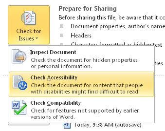 Creating Accessible PowerPoint Presentations (Windows/Mac