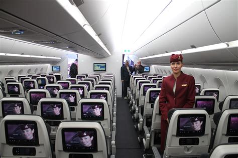 First Look: Qatar Airways' business class and economy