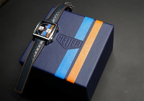 Up Close: TAG Heuer Monaco Green Japan, France and Gulf