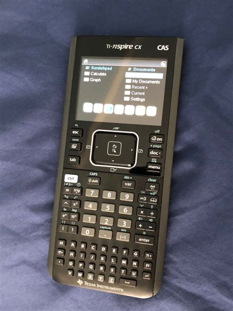 Texas Instruments TI - Nspire CX CAS Handheld Graphing