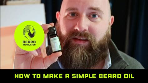 How to make a simple scent free beard oil