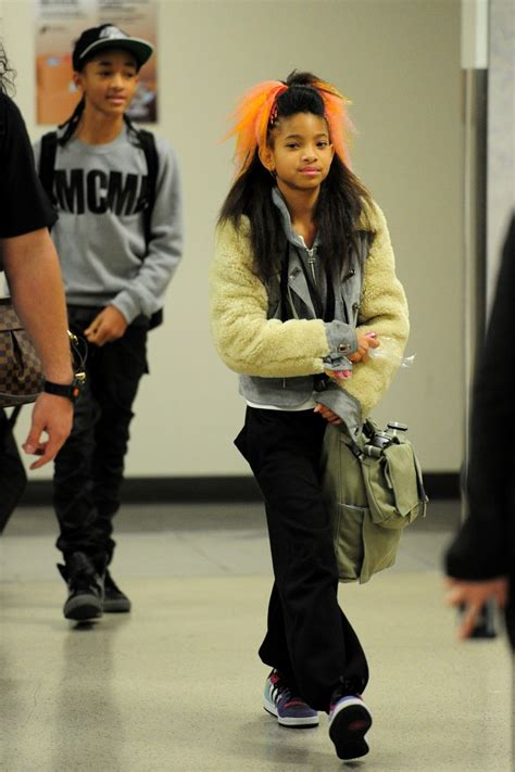 Latest Pictures of Jaden and Willow Smith (with Orange