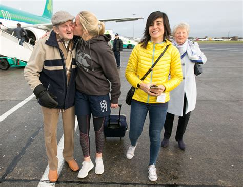 Limerick Joy as the world's top referee returns home
